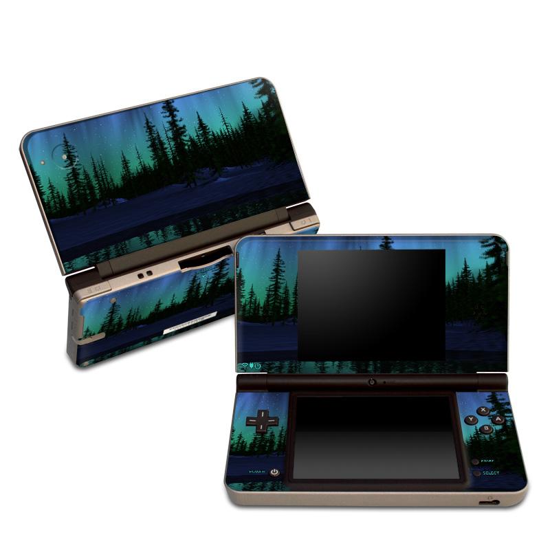 Aurora Nintendo DSi XL Skin