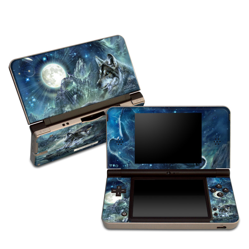 Bark At The Moon Nintendo DSi XL Skin