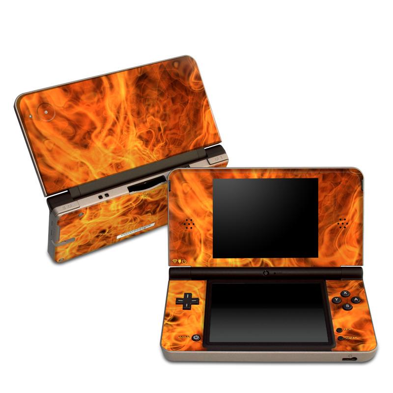 Combustion Nintendo DSi XL Skin