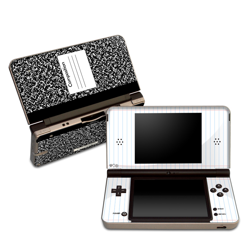 Composition Notebook Nintendo DSi XL Skin