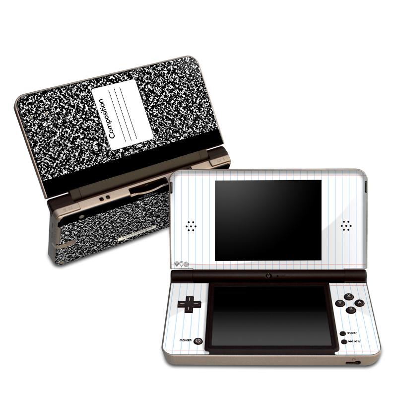 Composition Notebook Nintendo DSi XL Skin