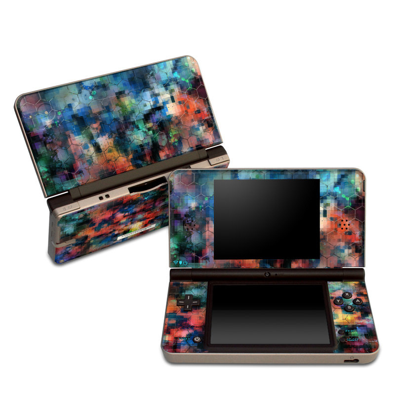 Circuit Breaker Nintendo DSi XL Skin