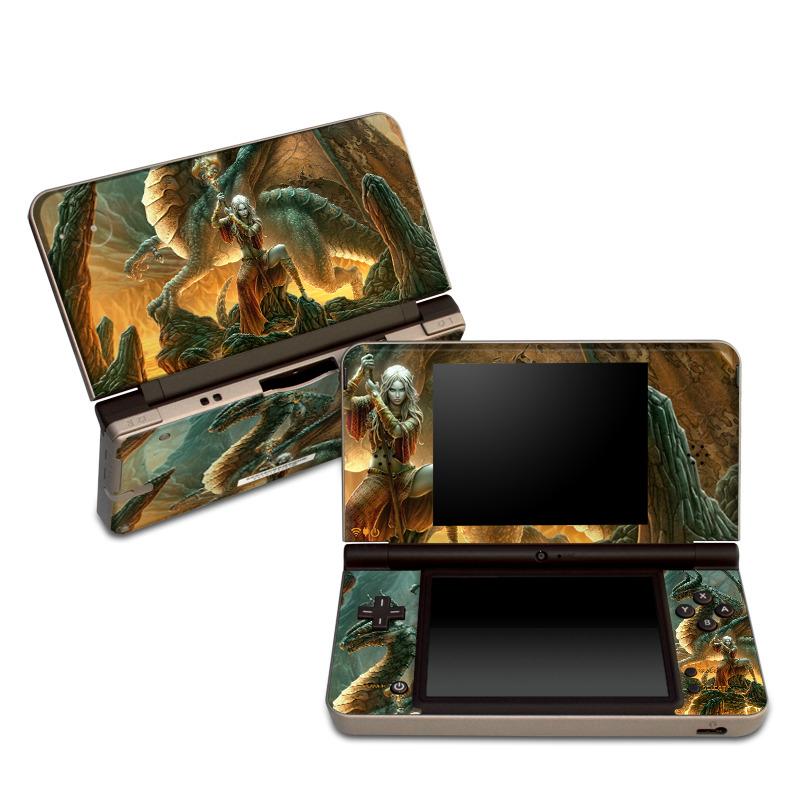 Dragon Mage Nintendo DSi XL Skin