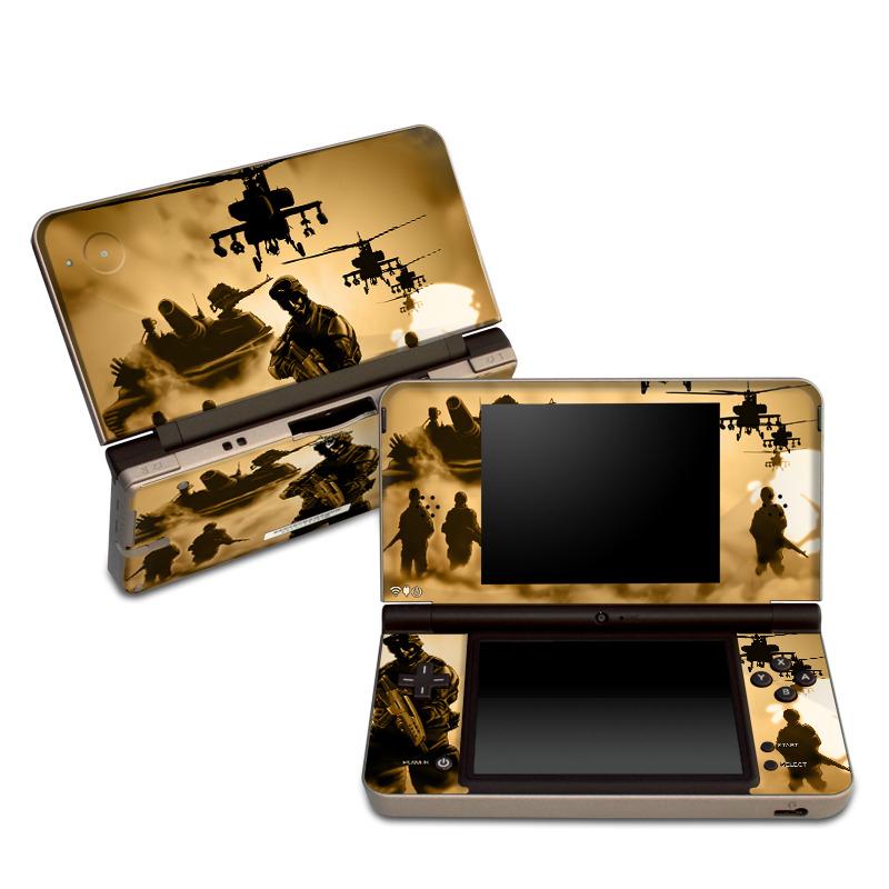 Desert Ops Nintendo DSi XL Skin