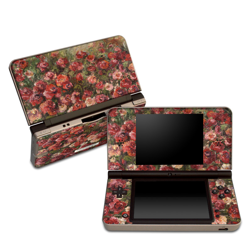Fleurs Sauvages Nintendo DSi XL Skin