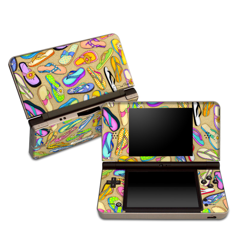 Flip Flops Nintendo DSi XL Skin