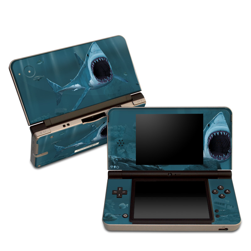 Great White Nintendo DSi XL Skin