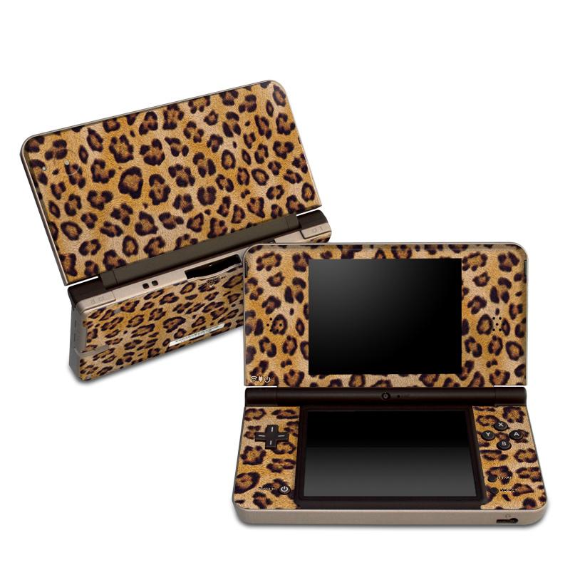 Leopard Spots Nintendo DSi XL Skin
