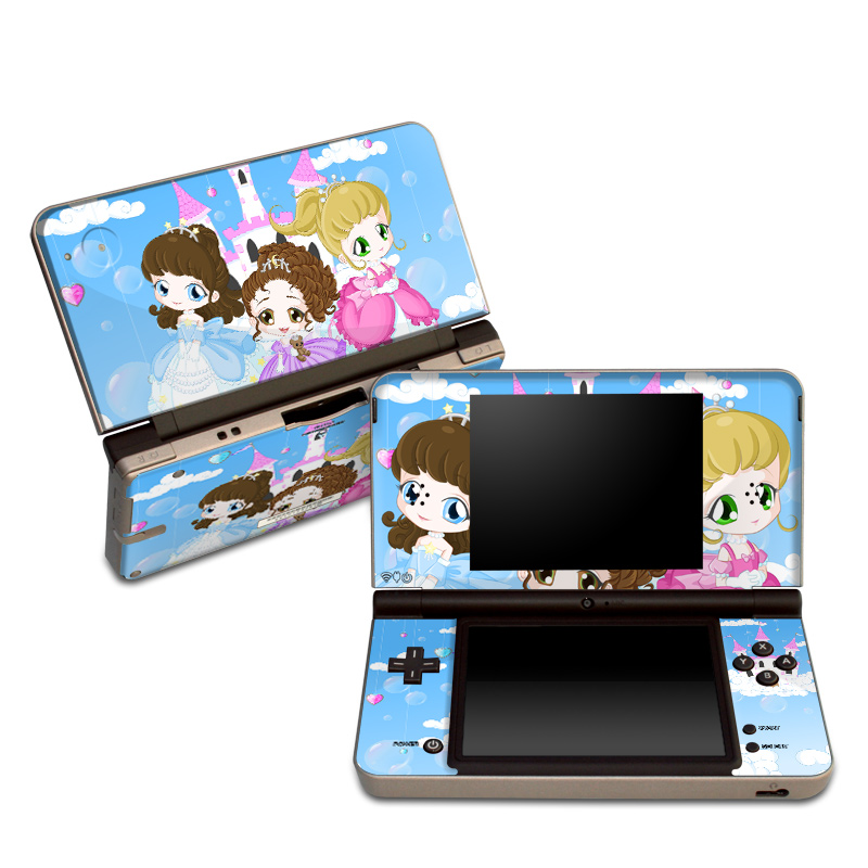 Little Princesses Nintendo DSi XL Skin