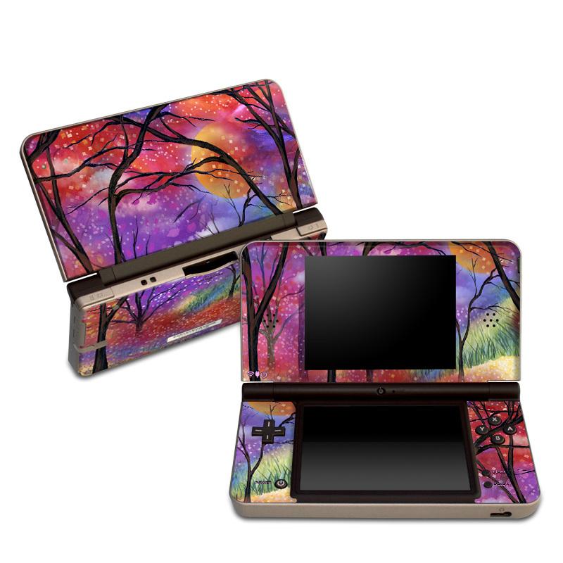 Moon Meadow Nintendo DSi XL Skin