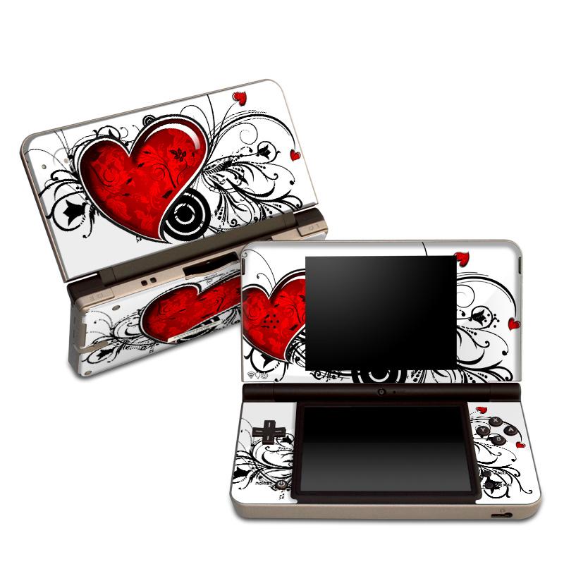 My Heart Nintendo DSi XL Skin