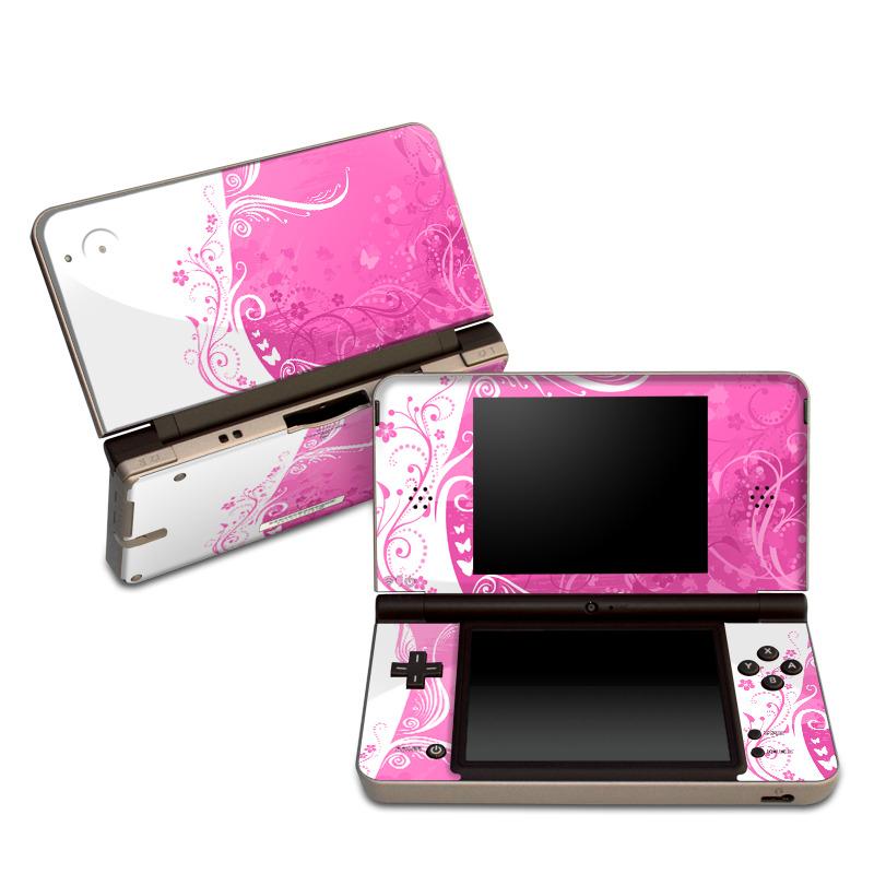 Pink Crush Nintendo DSi XL Skin