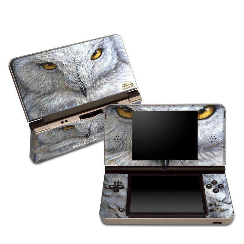 Snowy Owl Nintendo DSi XL Skin