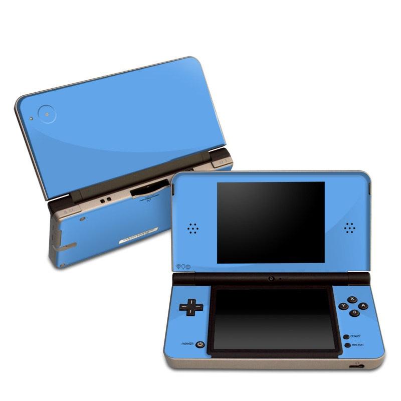 Solid State Blue Nintendo DSi XL Skin