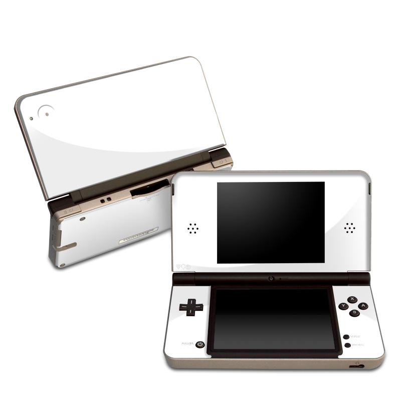 Solid State White Nintendo DSi XL Skin