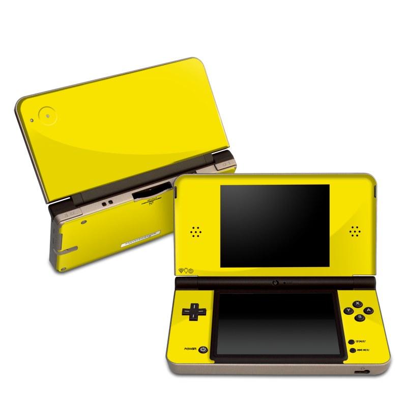 Solid State Yellow Nintendo DSi XL Skin