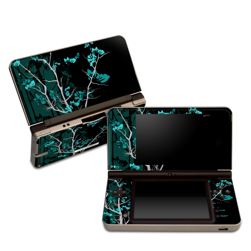 Aqua Tranquility Nintendo DSi XL Skin