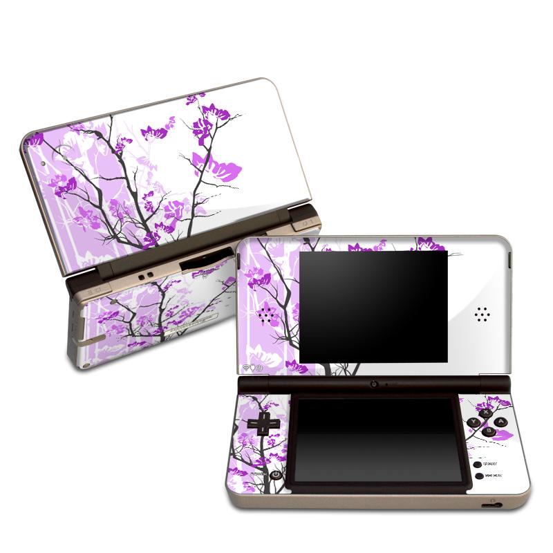 Violet Tranquility Nintendo DSi XL Skin