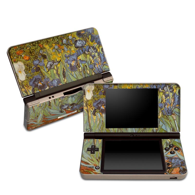 Irises Nintendo DSi XL Skin