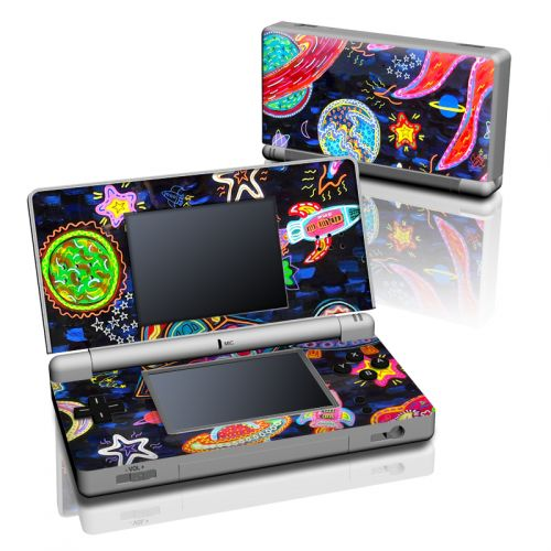 Out to Space Nintendo DS Lite Skin