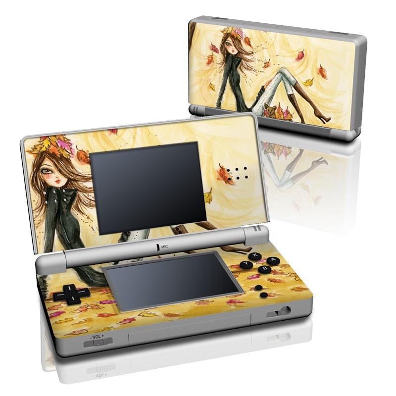 Autumn Leaves Nintendo DS Lite Skin