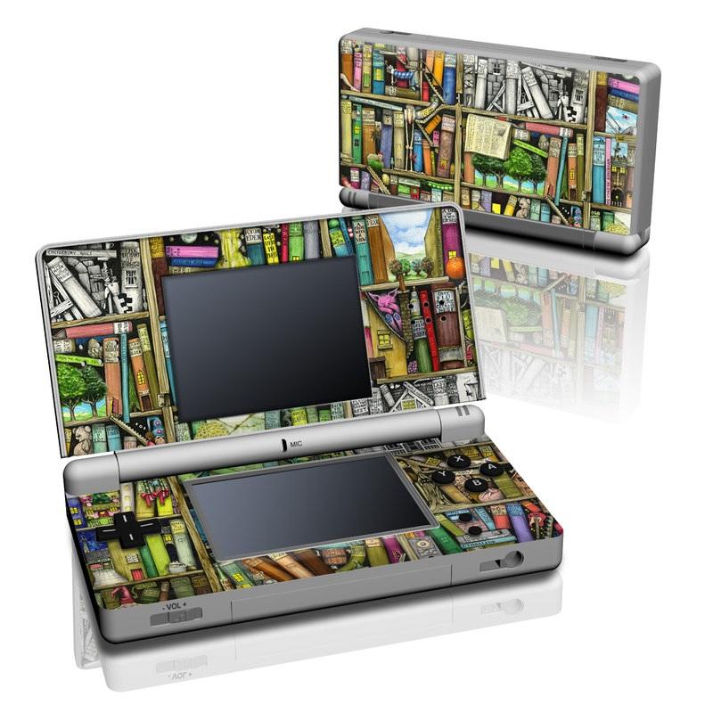 Bookshelf Nintendo DS Lite Skin