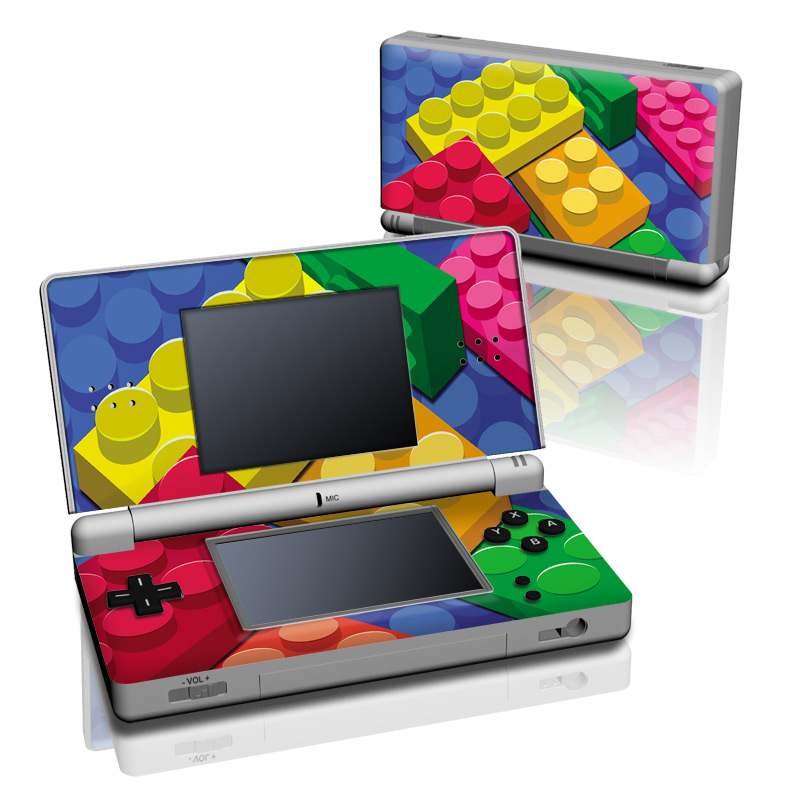 Bricks Nintendo DS Lite Skin