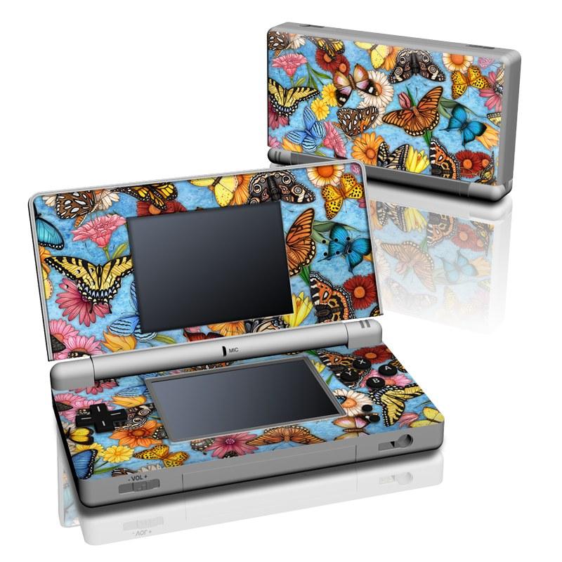 Butterfly Land Nintendo DS Lite Skin