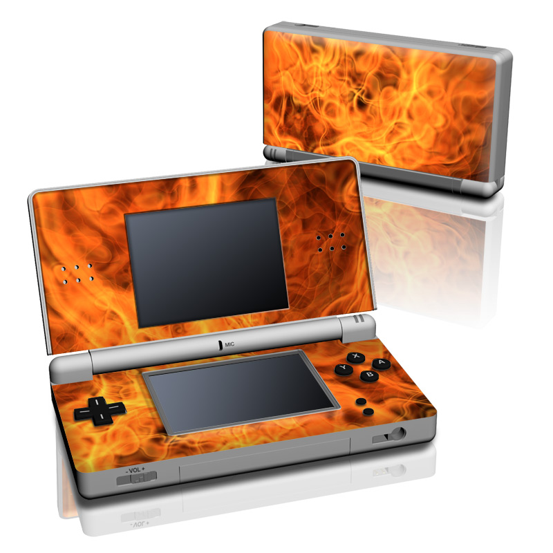 Spontaneous Combustion Nintendo DS Lite Skin