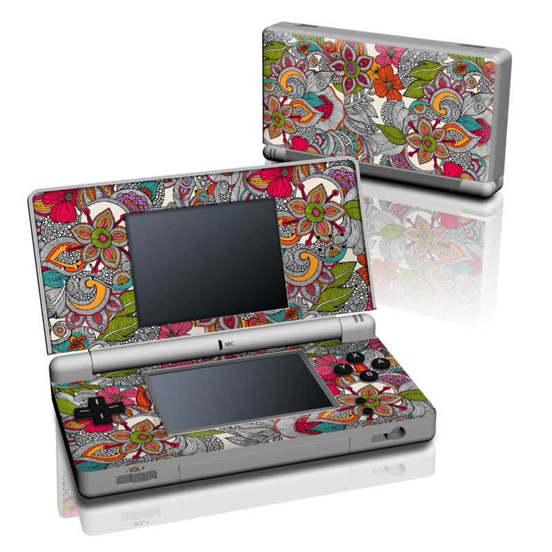 Doodles Color Nintendo DS Lite Skin