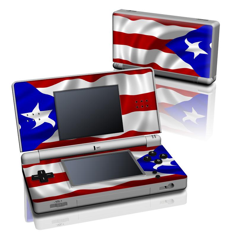 Puerto Rican Flag Nintendo DS Lite Skin