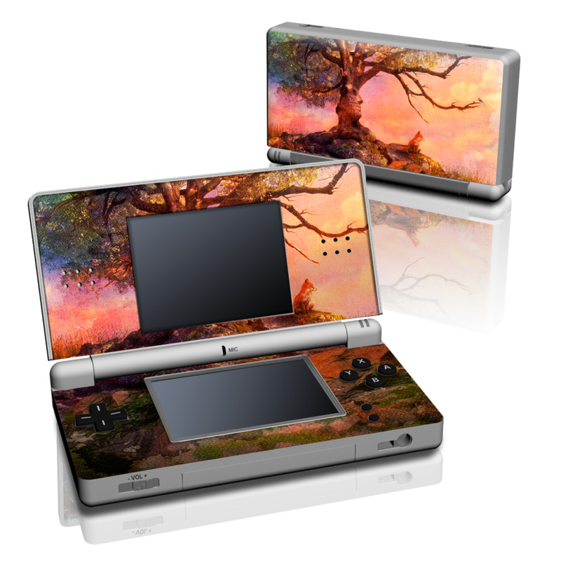 Fox Sunset Nintendo DS Lite Skin