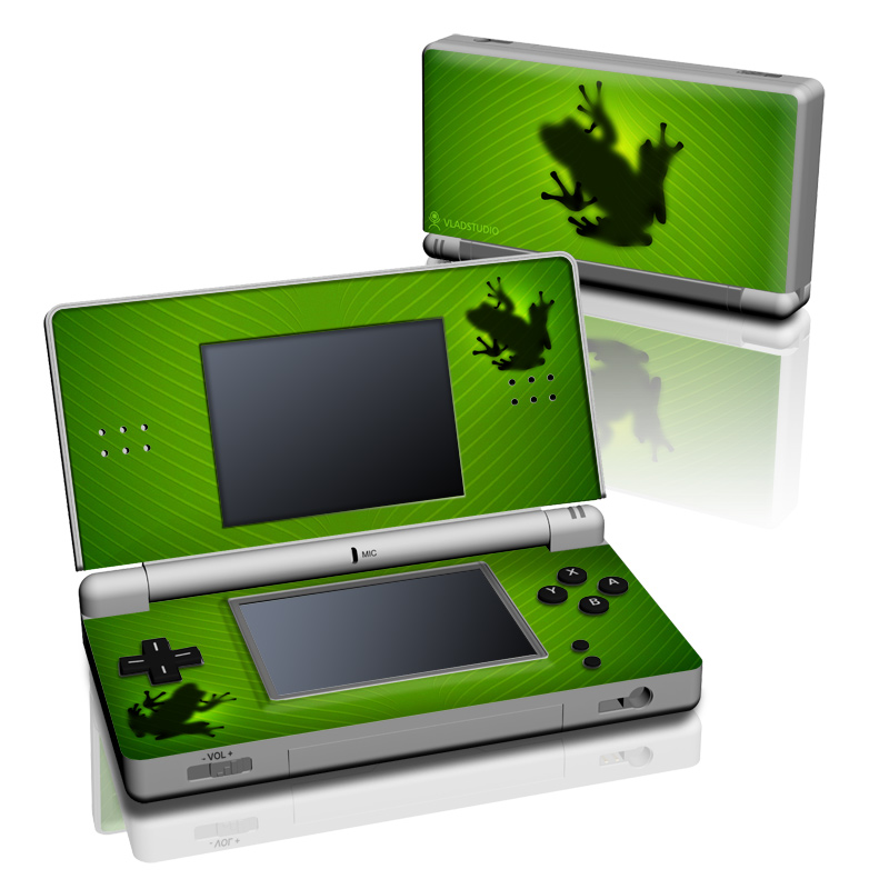 Frog Nintendo DS Lite Skin