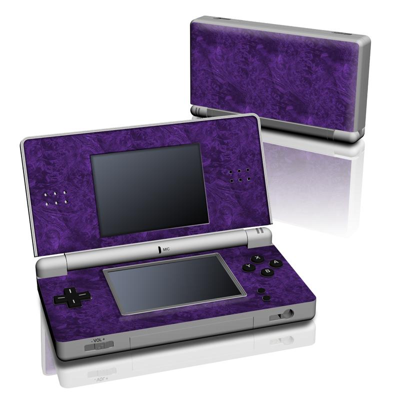 Purple Lacquer Nintendo DS Lite Skin