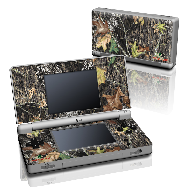 Nintendo DS Lite Skin design of Leaf, Tree, Plant, Adaptation, Camouflage, Branch, Wildlife, Trunk, Root with black, gray, green, red colors