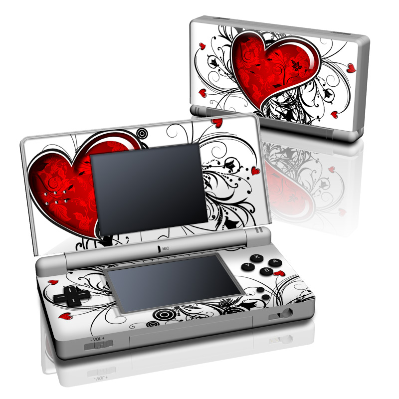 My Heart Nintendo DS Lite Skin