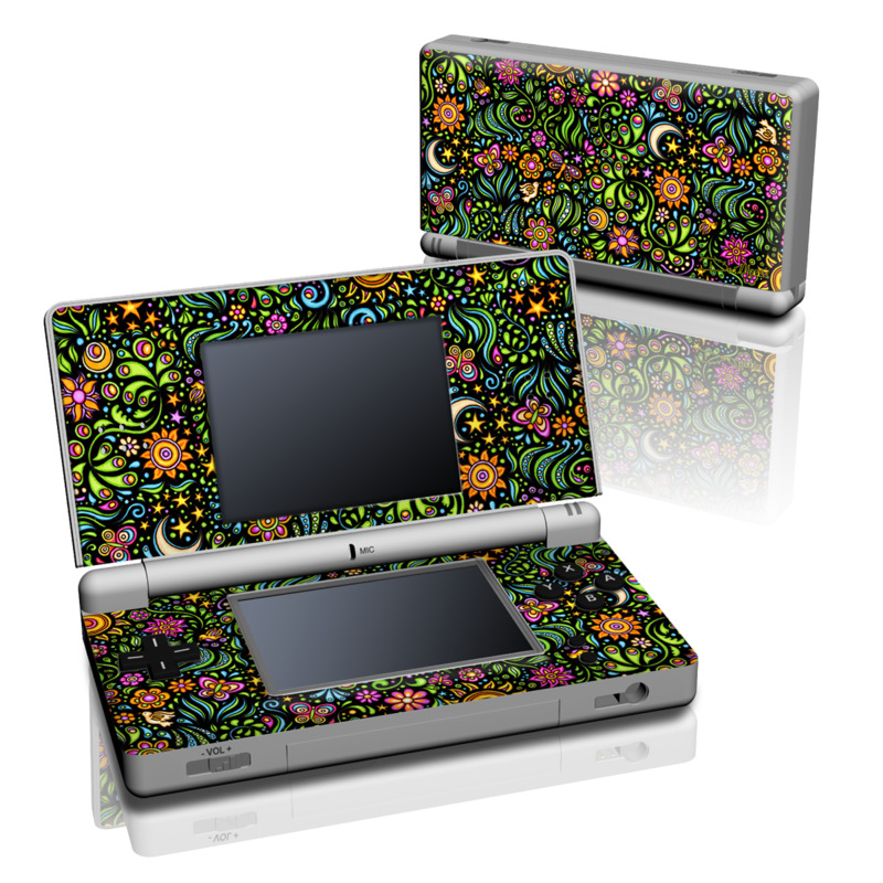Nature Ditzy Nintendo DS Lite Skin