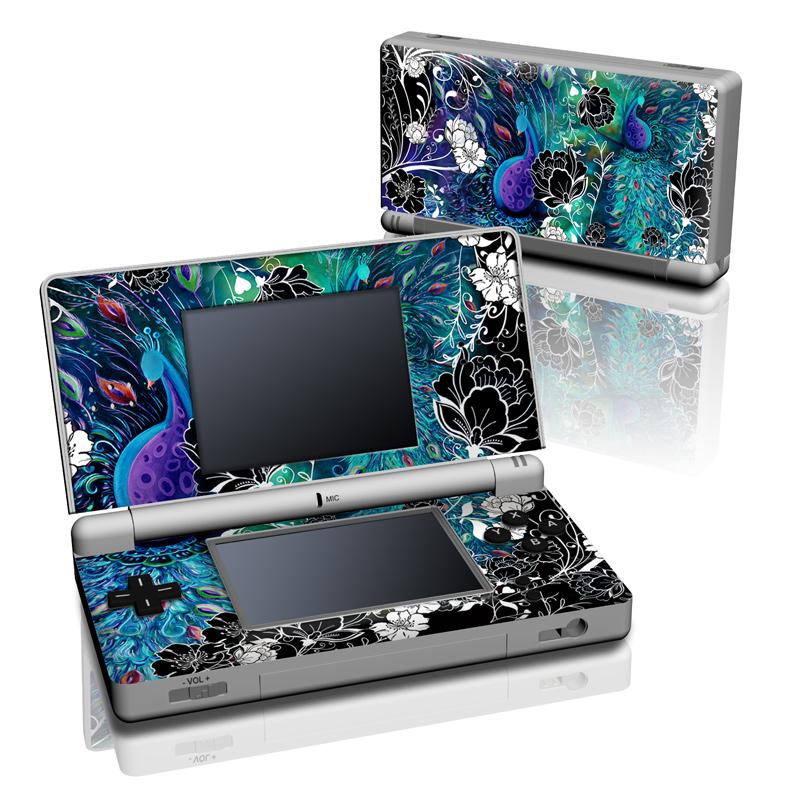 Peacock Garden Nintendo DS Lite Skin