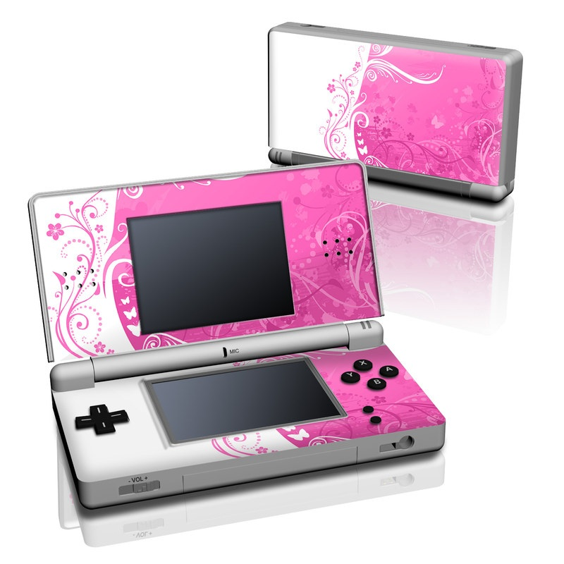 Pink Crush Nintendo DS Lite Skin