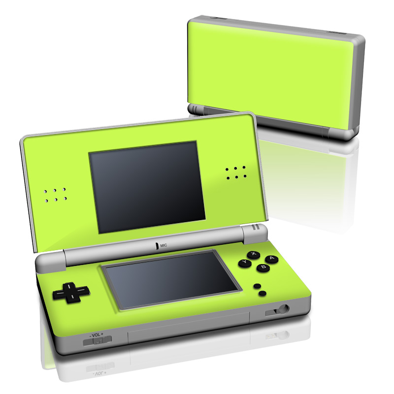 Solid State Lime Nintendo DS Lite Skin
