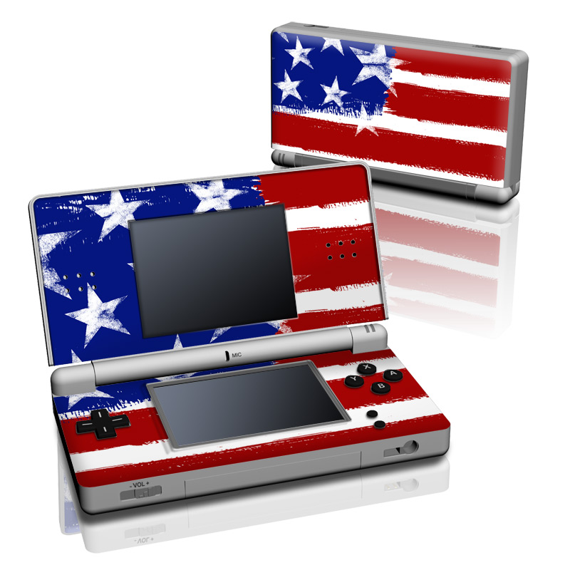 Stars + Stripes Nintendo DS Lite Skin