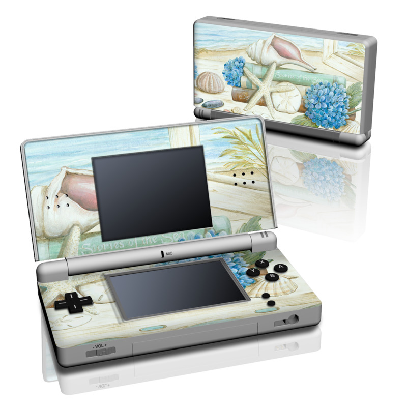 Stories of the Sea Nintendo DS Lite Skin