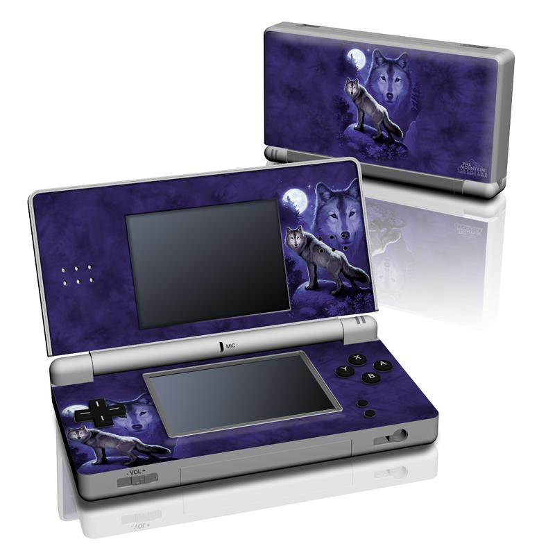 Wolf Nintendo DS Lite Skin