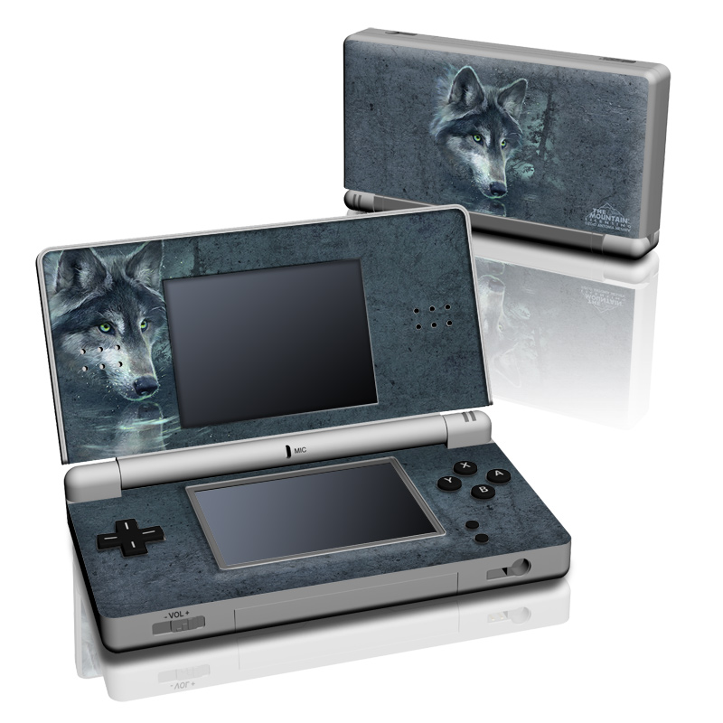 Wolf Reflection Nintendo DS Lite Skin