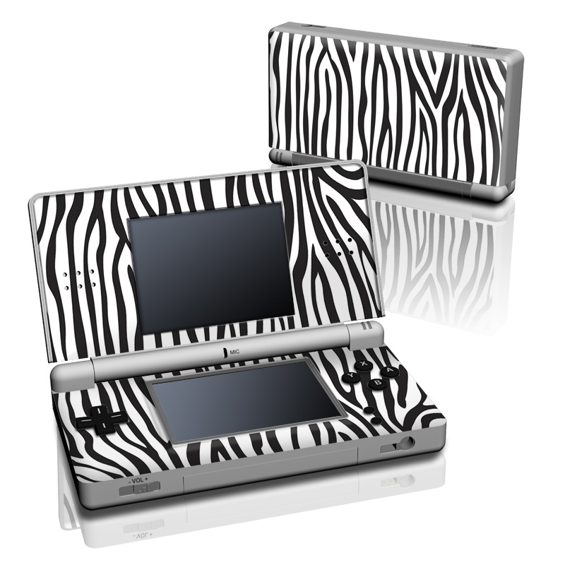 Zebra Stripes Nintendo DS Lite Skin