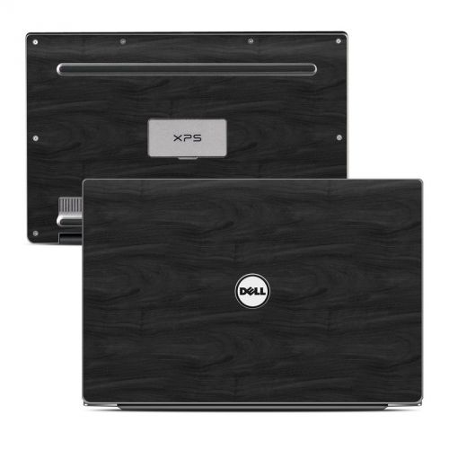 Black Woodgrain Dell XPS 13 9343 Skin
