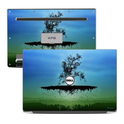Flying Tree Blue Dell XPS 13 Skin