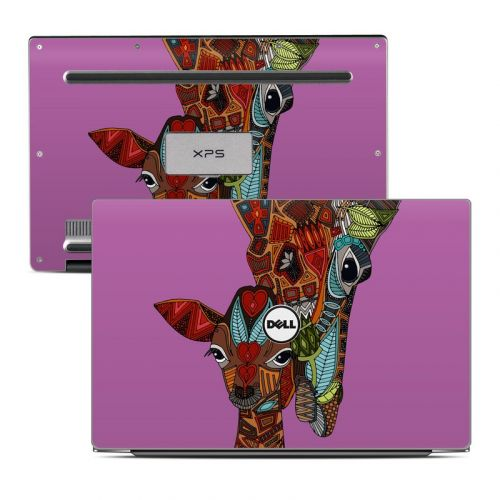 Giraffe Love Dell XPS 13 Skin