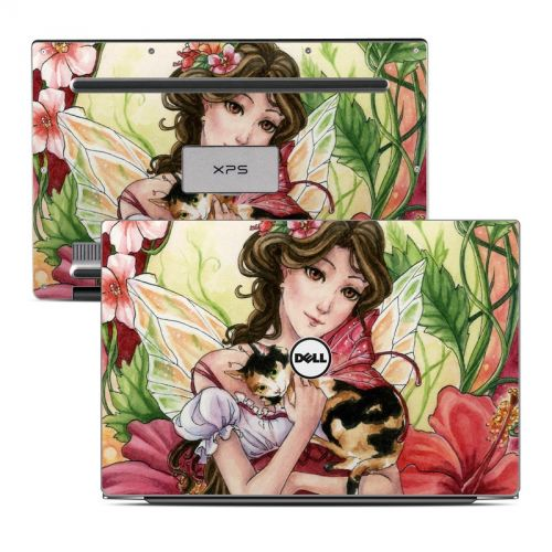 Hibiscus Fairy Dell XPS 13 Skin