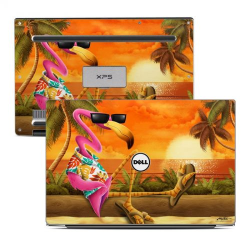 Sunset Flamingo Dell XPS 13 Skin